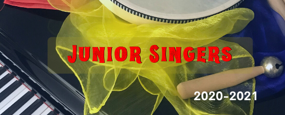 Yellow scarf drum sticks piano and bells for music large banner