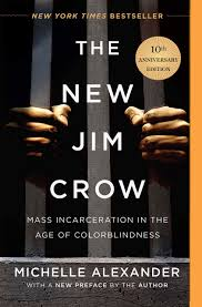 The New Jim Crow by Michelle Alexander book cover