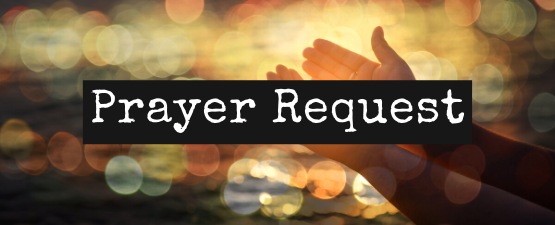 Prayer Request Submission for Prayer Team Large Banner