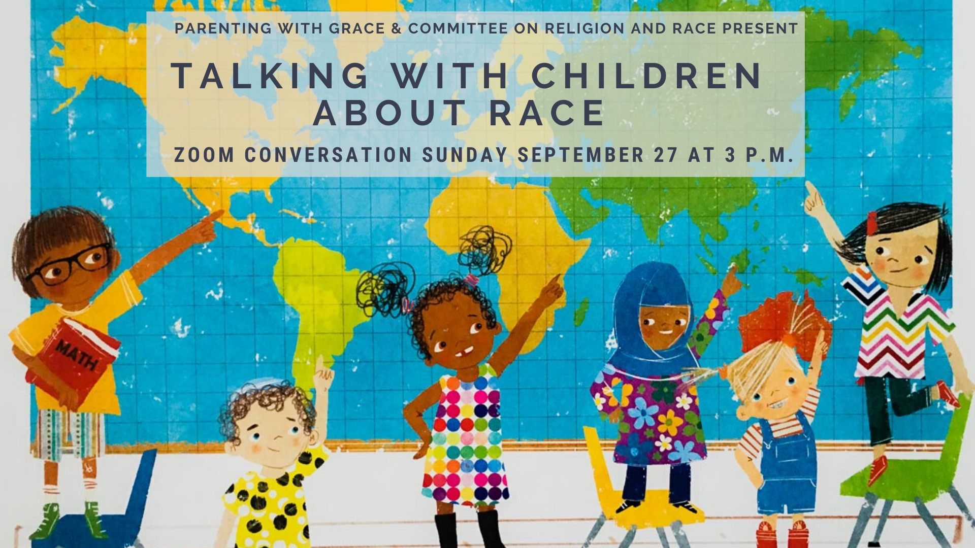 Talking with children about race at Grace