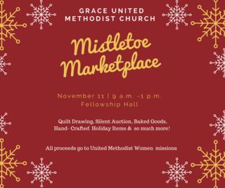 Mistletoe Marketplace Grace United Methodist Church